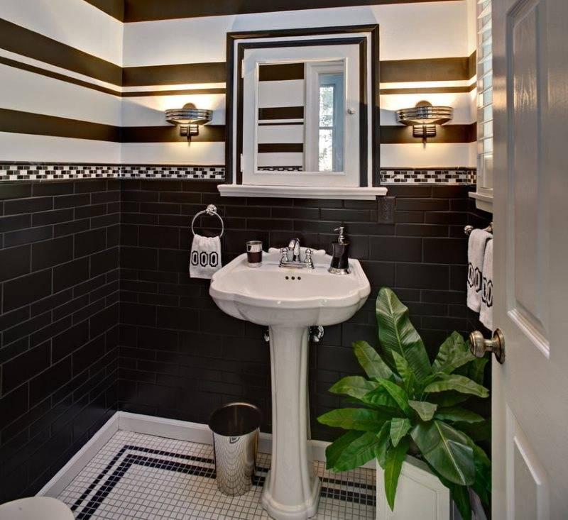 Мозаика в туалете: идеи для декора