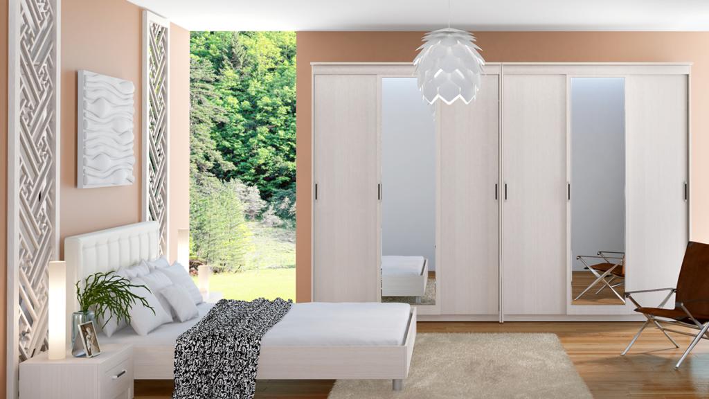 Встраиваемая мебель для спальни: фото лучших вариантов и новинок дизайна