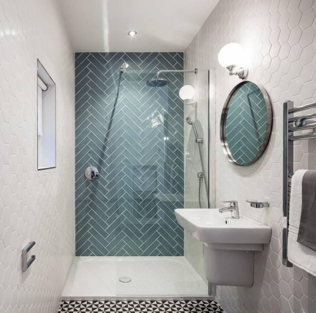 Дизайн душевой без кабины и поддона: дизайн-проект в квартире своими руками, фото душа в ванной