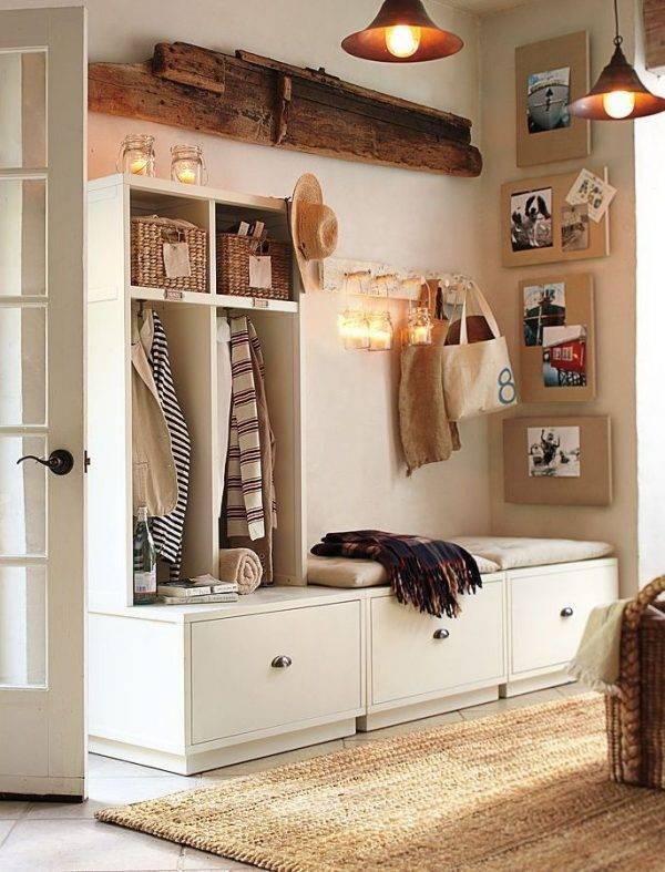 Подбираем и расставляем мебель в маленькой прихожей
