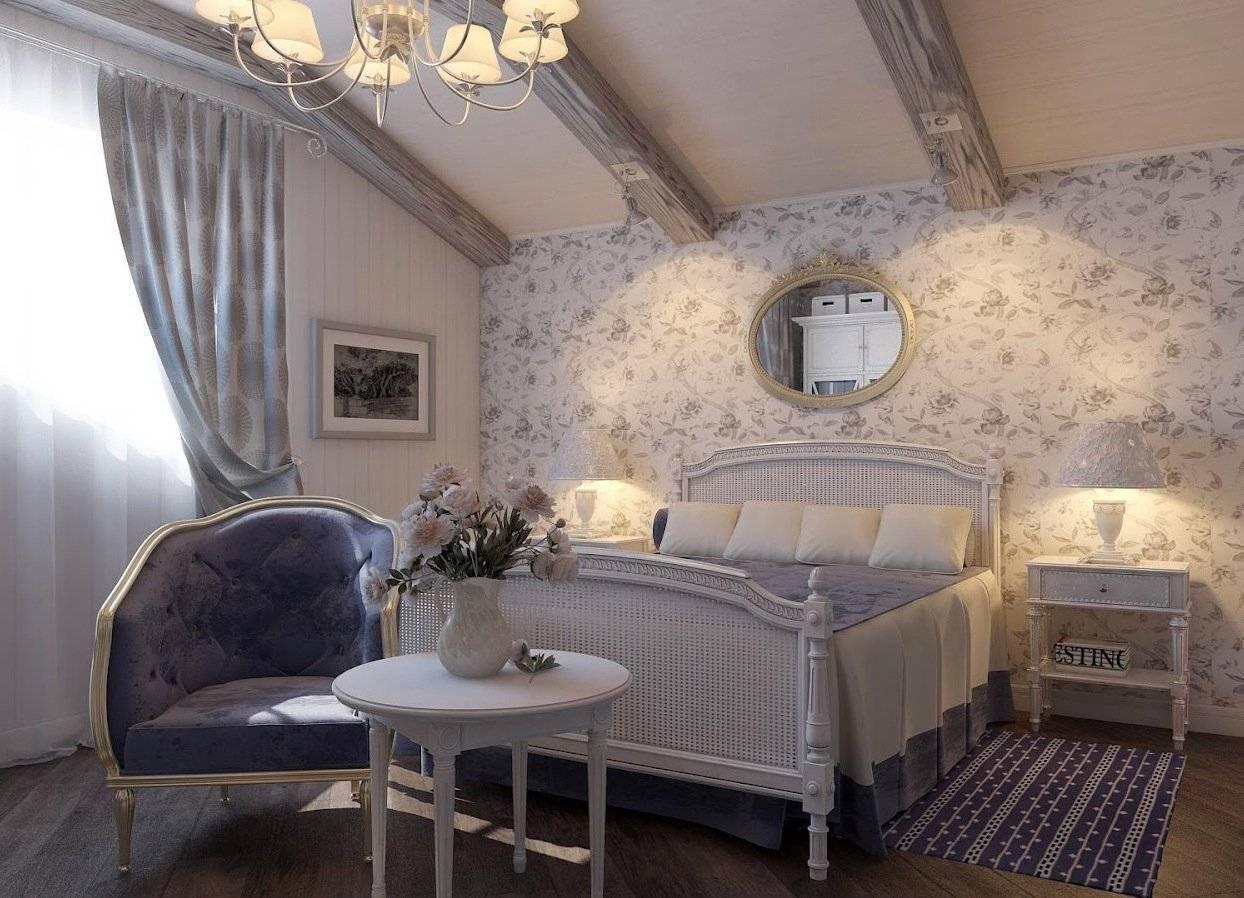 75 интересных идей декора интерьера в стиле прованс с фото