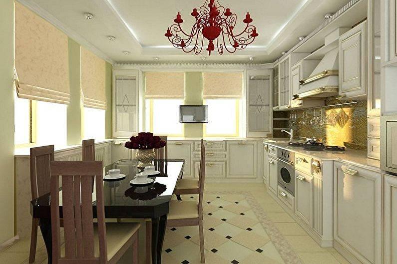 Варианты дизайна кухни 2 на 3 метра