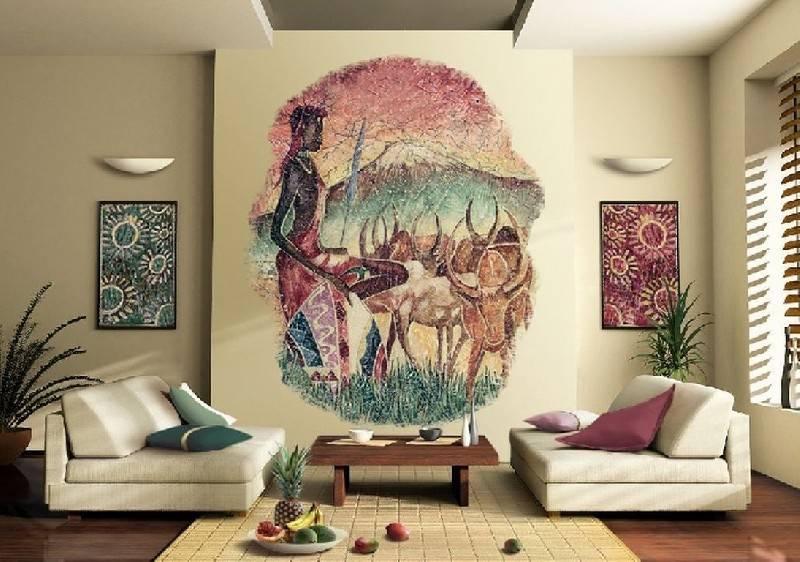 Африканский стиль в интерьере — 33 фото интерьера в стиле сафари