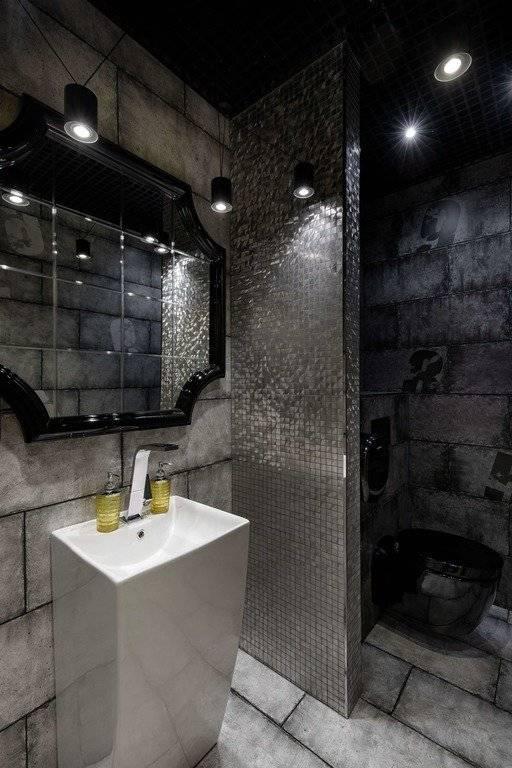 Ванная в стиле минимализм: просто, но уютно