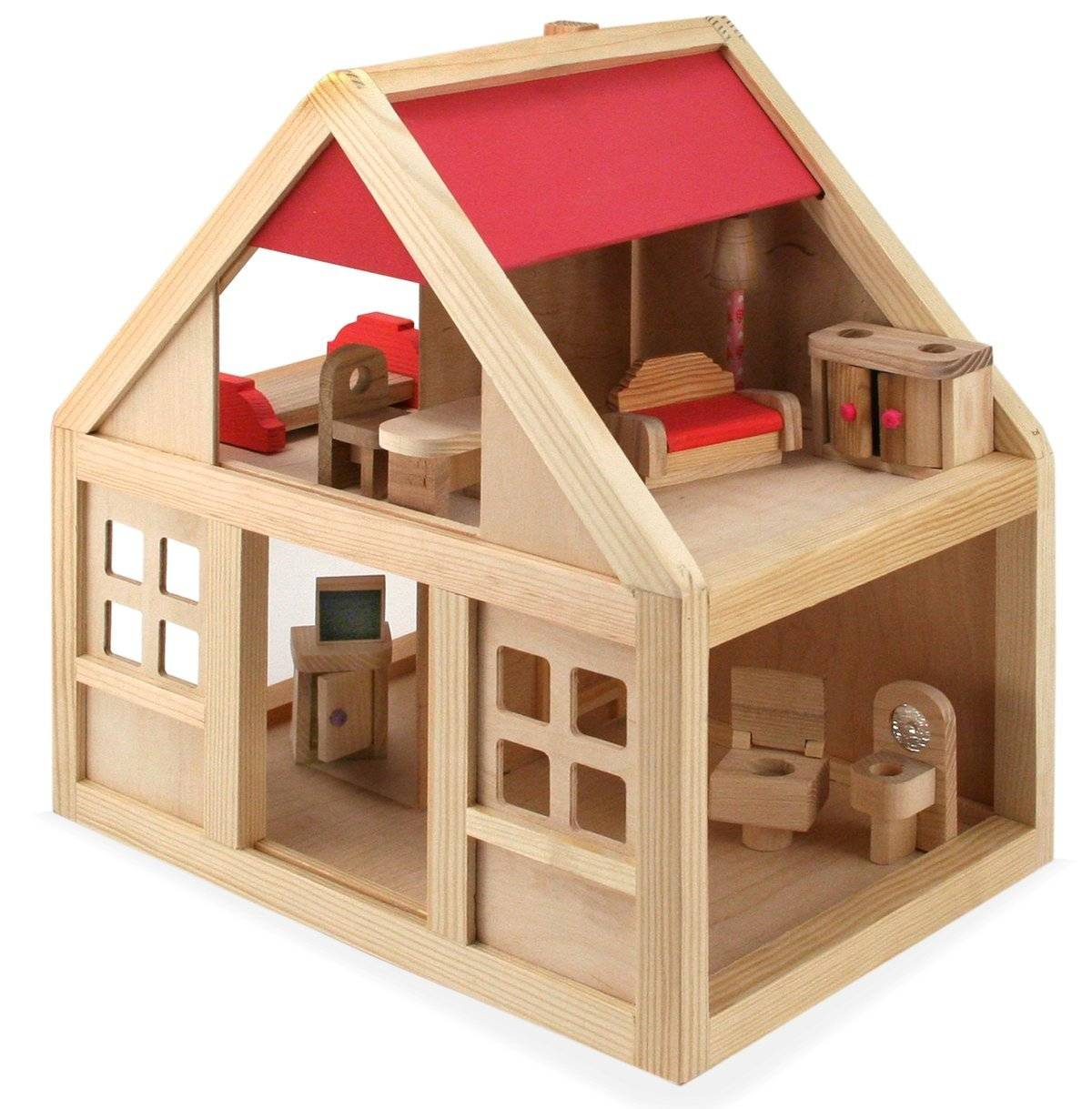 Кукольная жизнь макет модель кукольный домик для дочурки своими руками фанера
