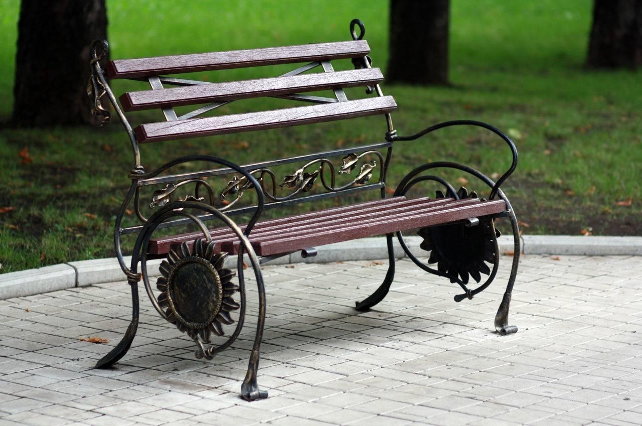 Садовая скамейка своими руками: разновидности лавок, чертежи, пошаговые инструкции