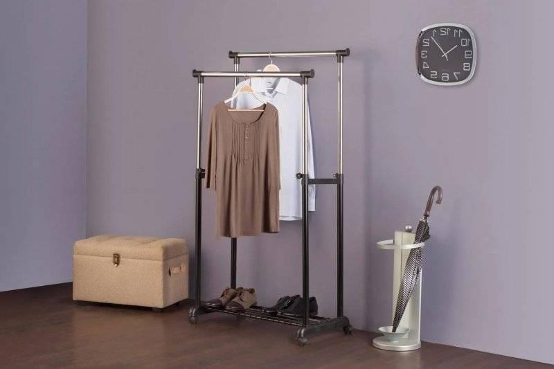 Напольная вешалка для одежды своими руками