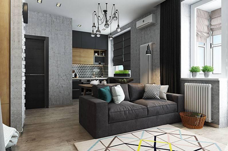 Интерьер квартиры холостяка: создаем мужской дизайн