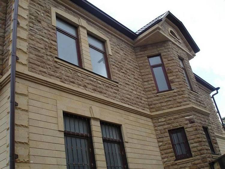 Отделка фасада частного дома: критерии выбора материала