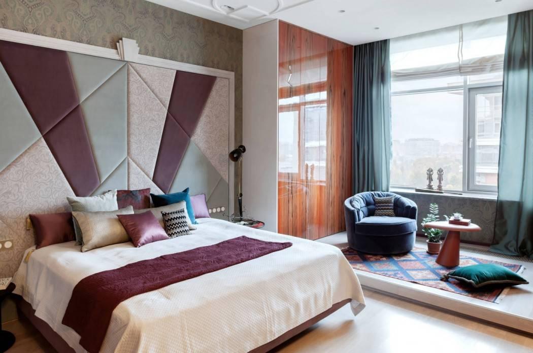 Декор спальни — 70 фото примеров необычного оформления