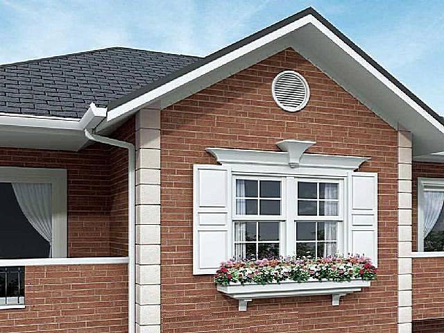 Выбираем фасадный декор для наружной отделки дома