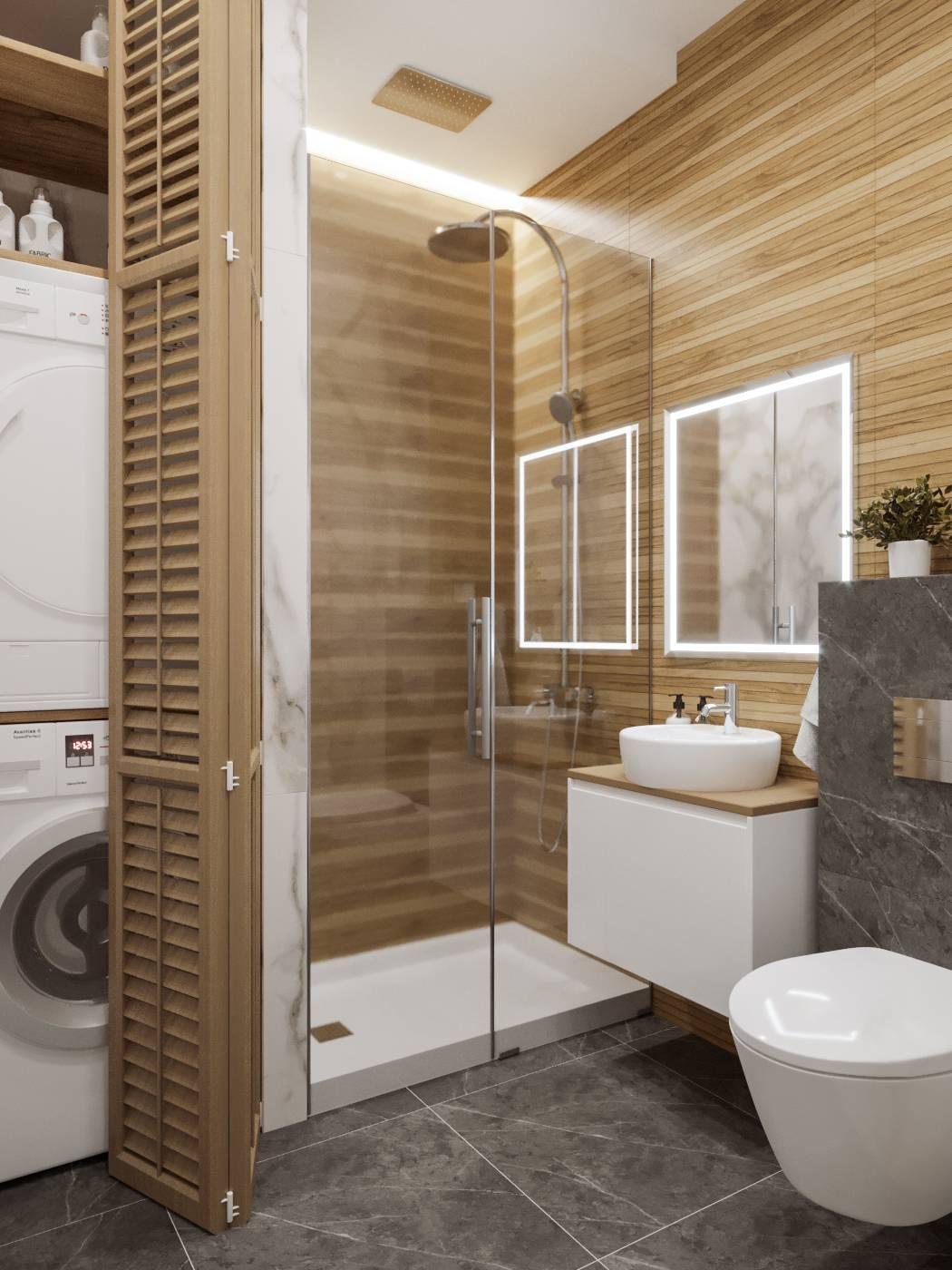 Разновидности и преимущества совмещенной ванны с душевой кабиной
