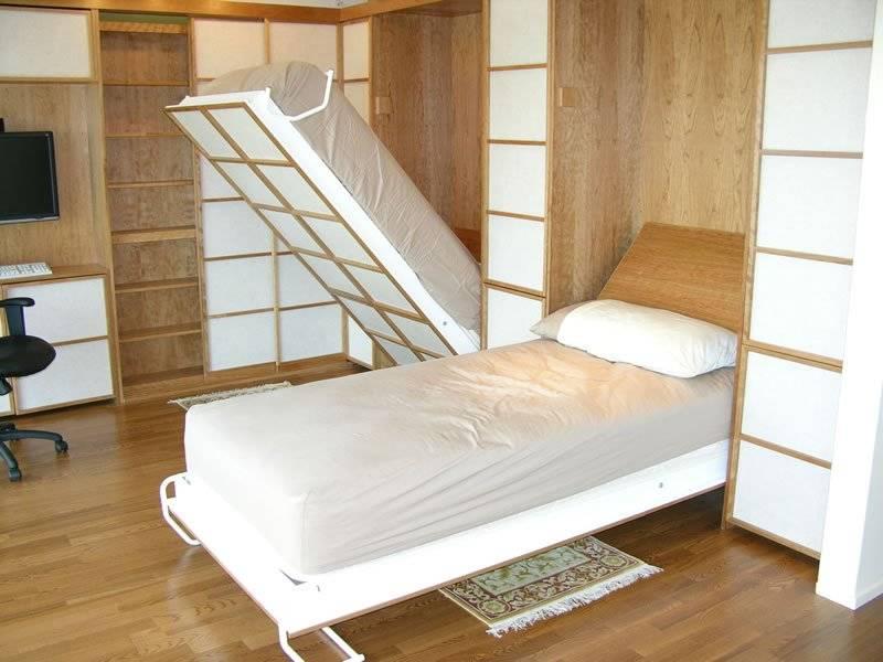 Шкаф-диван-кровать трансформер: виды конструкций, габариты, нюансы выбора