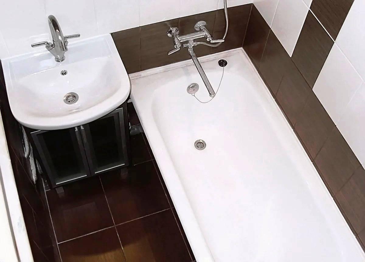 Дизайн ванной комнаты в хрущевке: идеи дизайна, фото, видео