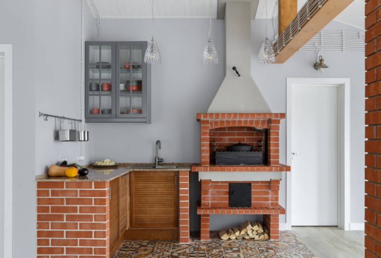 Летняя кухня на даче своими руками