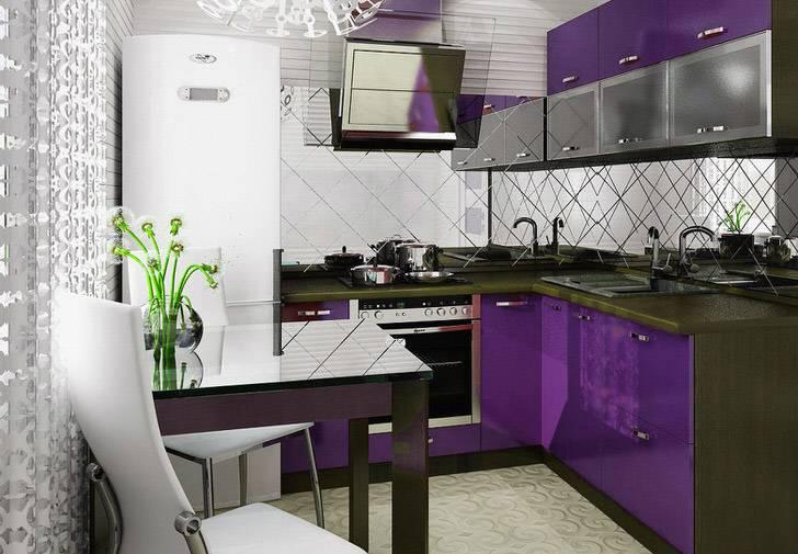 Дизайн кухни 6 кв. м – 12 подсказок и 70 фото-идей