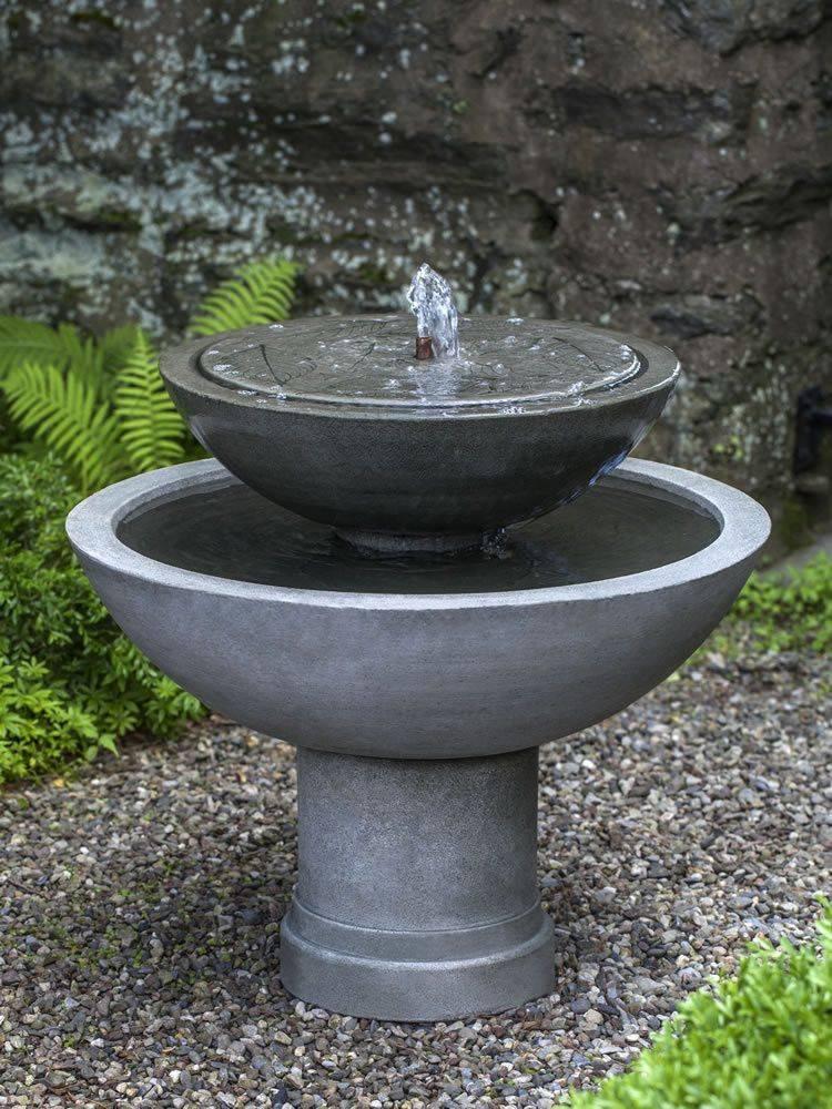 Садовый фонтан на даче - энергия воды и красоты!