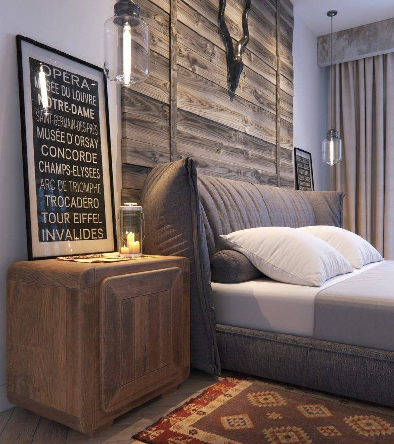 Спальня в стиле лофт: 60 фото идей, гид по дизайну