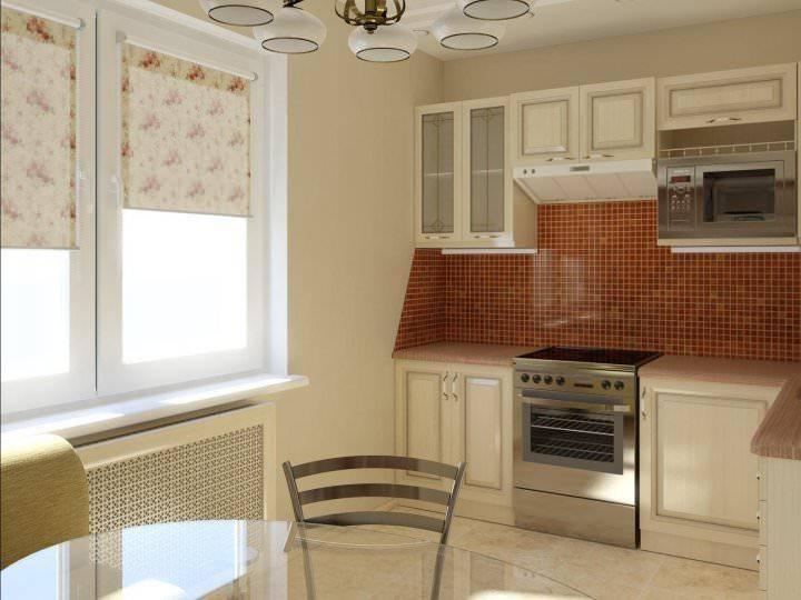Интерьер кухни 6 кв м. фото дизайн интерьера маленькой кухни 6 кв м