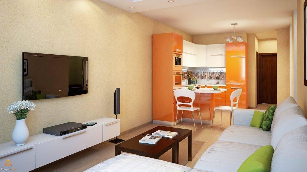 Дизайн кухни-гостиной 20 кв.м: фото интерьеров, планировок, советы дизайнеров
