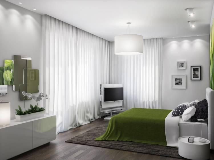 Дизайн гостиной с двумя окнами — фото интерьеров
