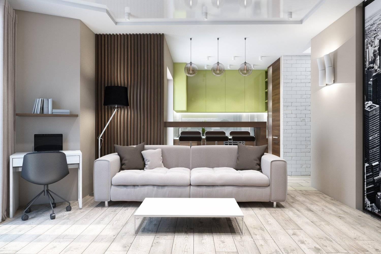 Квартира 45 кв. м. – современный интерьер и принципы планирования (75 фото)