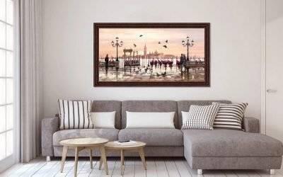 Декорируем картинами гостиную: 5 основных правил  - all4decor