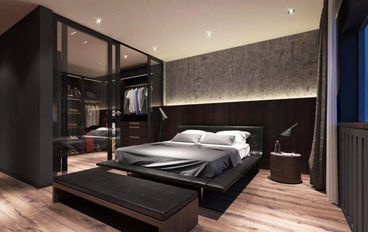 Спальня в стиле хай-тек - 95 фото особенностей создания уютного оформления спальни