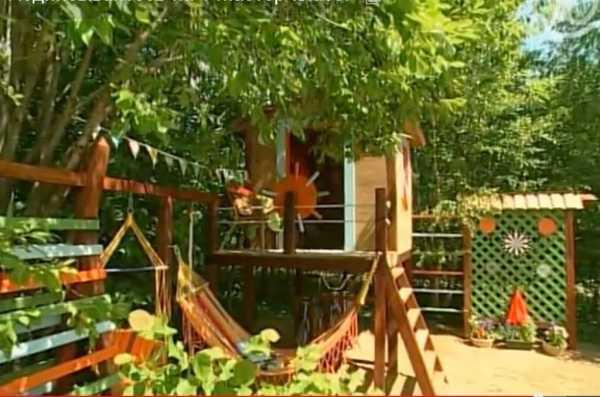 Детская площадка на даче: строим своими руками из подручных материалов