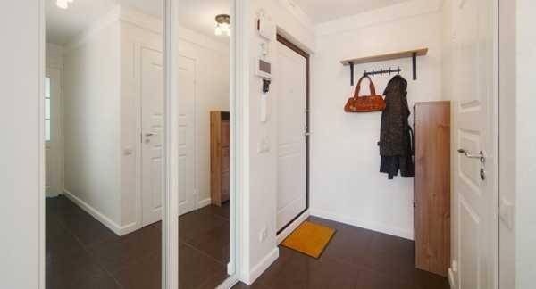 Встроенный шкаф-купе в прихожую - фото примеров