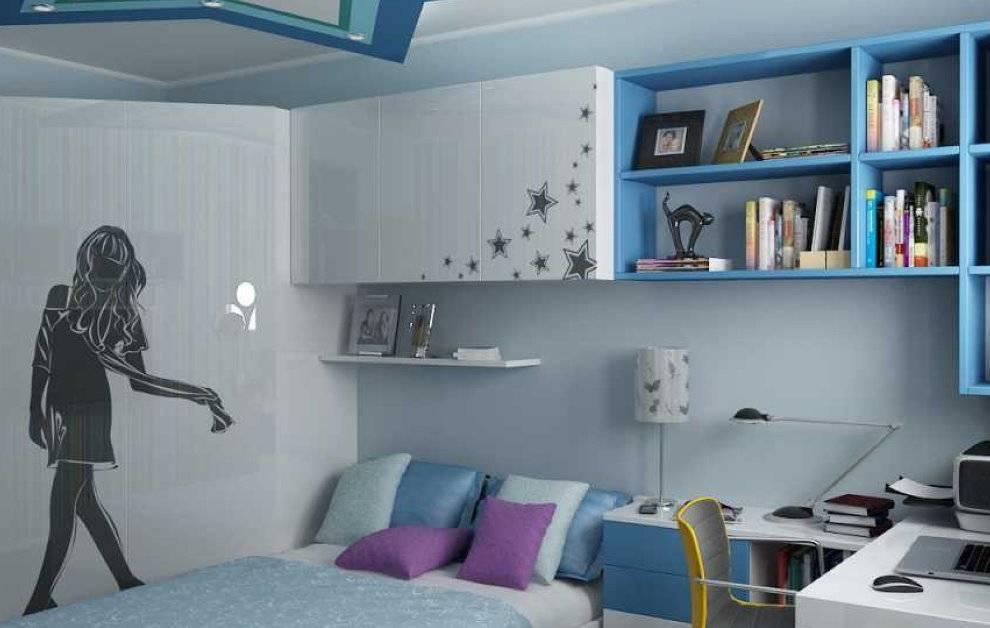 Варианты выбора мебели для комнаты подростка