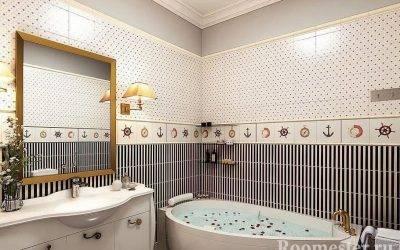 Плитка для маленькой ванной: 45+ фото в интерьере, современные идеи дизайна