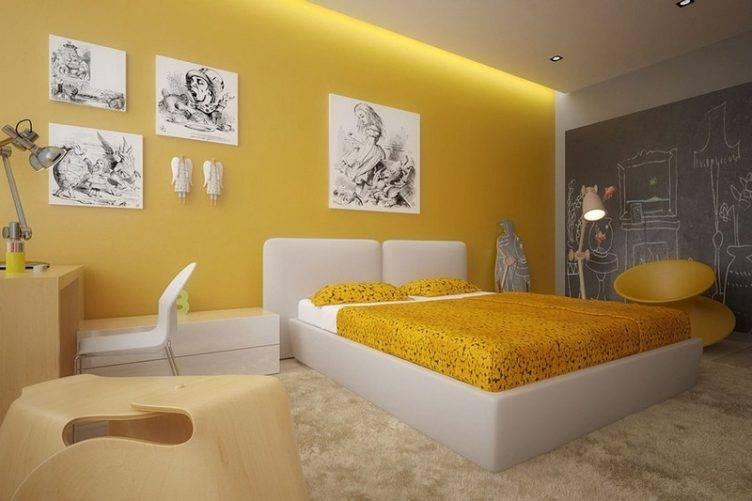 Сочетания желтого цвета в интерьере с другими цветами