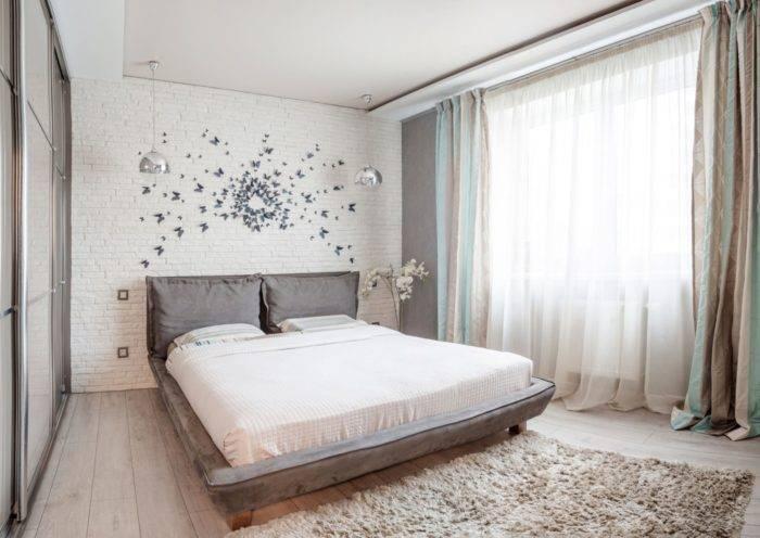 Небольшая спальня: топ-100 фото уютного и практичного дизайна маленькой спальни