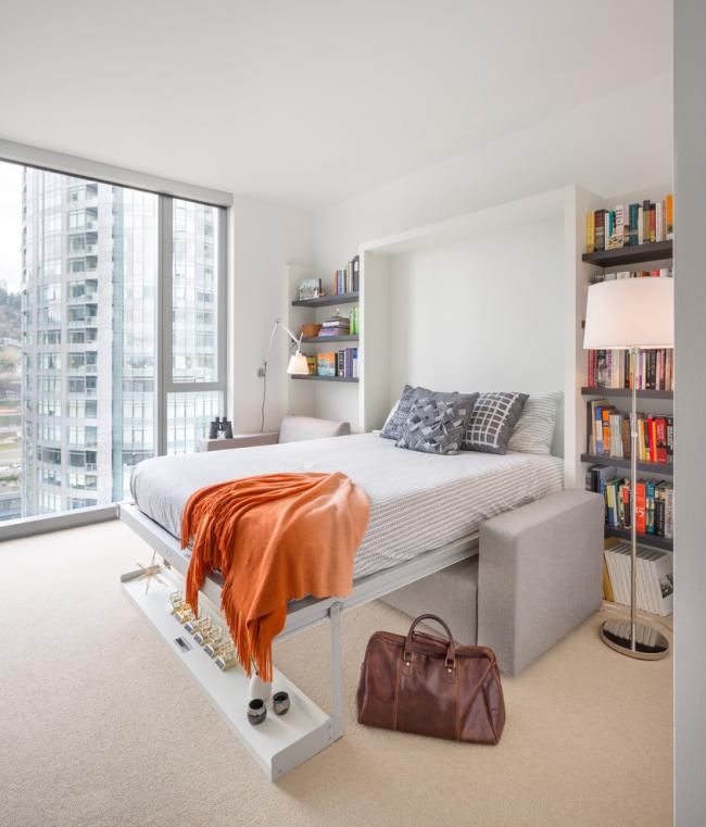 Шкаф-кровать: 95 фото идеальных сочетаний и красивых идей применения