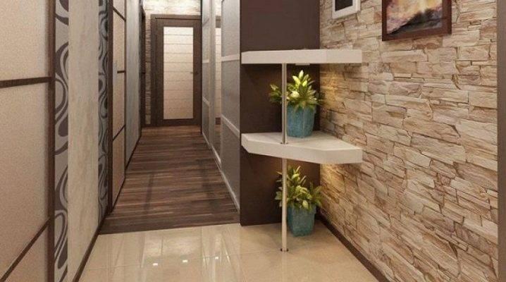 Пол в прихожей (50 фото): что лучше постелить в коридоре - комбинированный или наливной, какой выбрать дизайн, особенности теплого пола