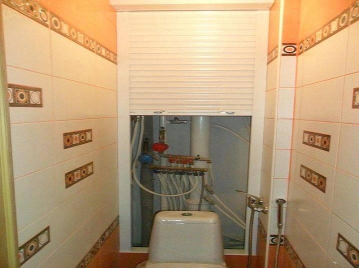 Рольставни в туалет (78 фото): готовые комплекты с фотопечатью для санузла, размеры сантехнических рольставней, рольставни с рисунком за унитазом