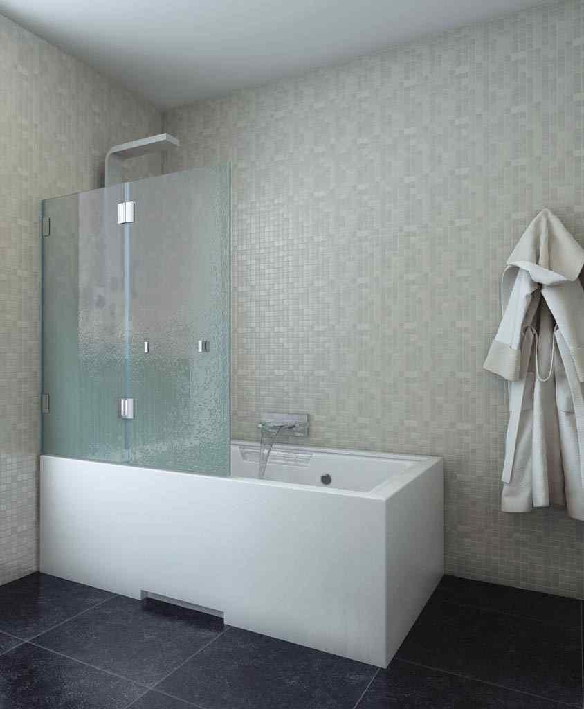 Какую выбрать стеклянную шторку для ванной?