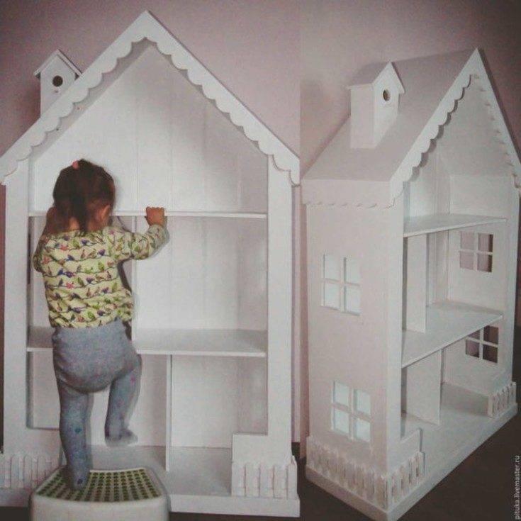 Кукольный домик для барби из фанеры своими руками: чертеж, размеры, схема