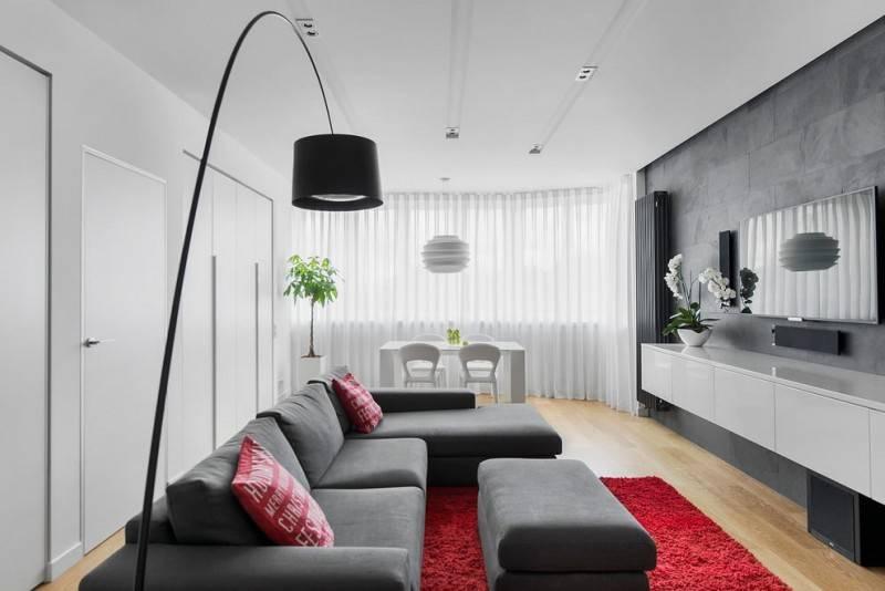 Дизайн стен в гостиной: варианты оформления и рекомендации специалистов