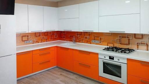 Персиковая кухня: модные оттенки и удачные сочетания