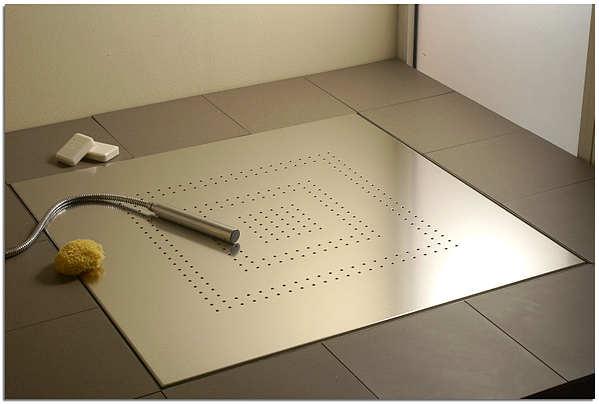 Трап для душа в полу под плитку: лучшее решение для современной ванной комнаты