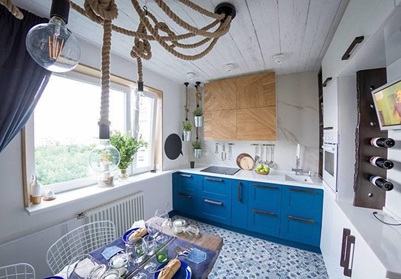 Угловые кухни с окном: достоинства, недостатки и тонкости оформления
