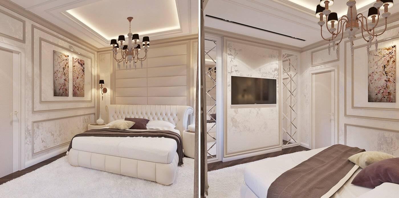 Спальни в стиле неоклассика фото: интерьер и дизайн, оформление спальни в стиле неокласика: 4 фото-идеи – дизайн интерьера и ремонт квартиры своими руками