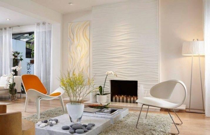 Акцентная стена в интерьере, интересные варианты дизайна, фото