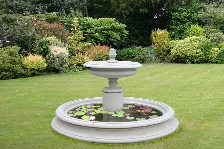 Декоративные фонтаны и водопады для дачи