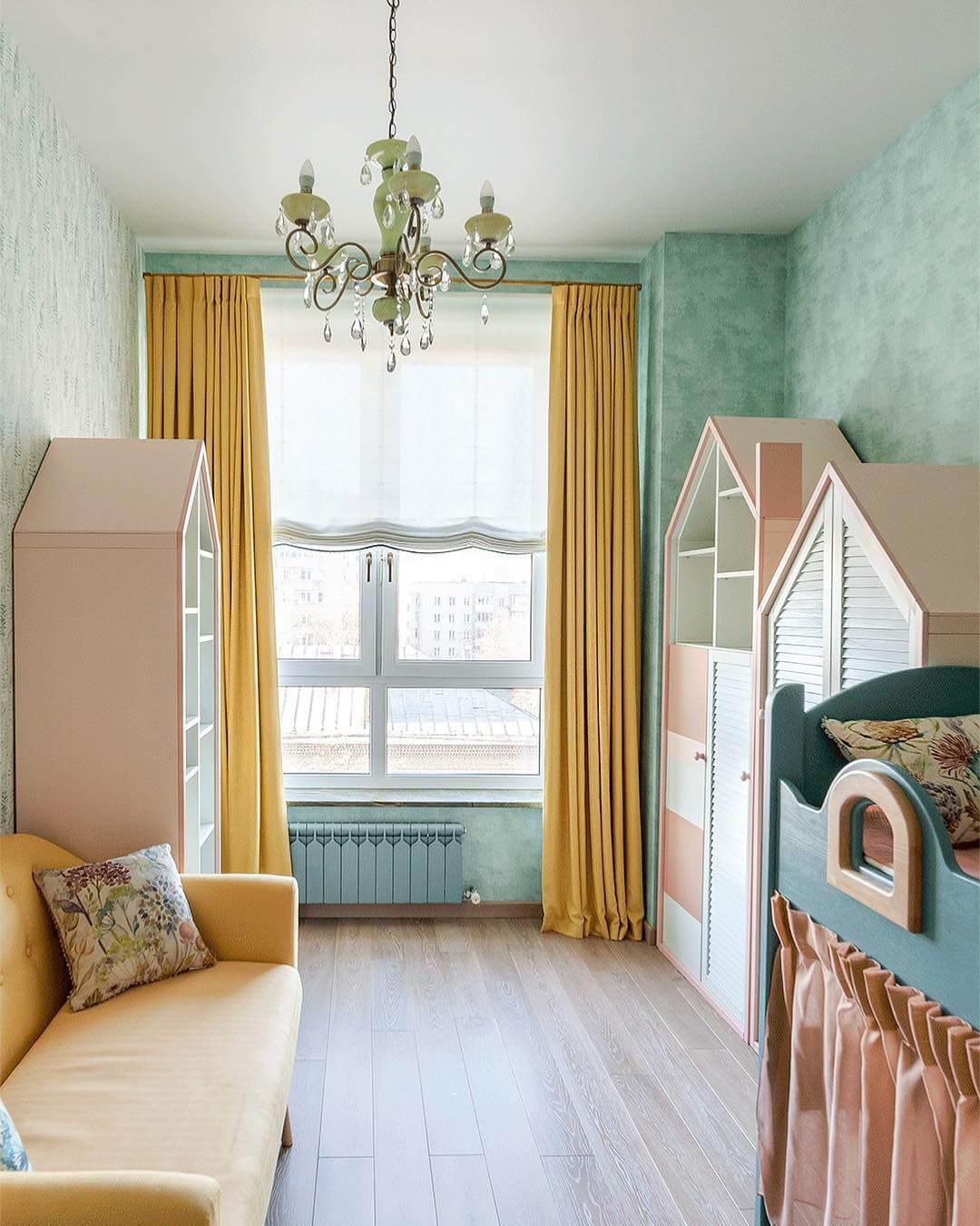 Дизайн гостиной в бирюзовом цвете: 55 лучших идей и реализаций в интерьере