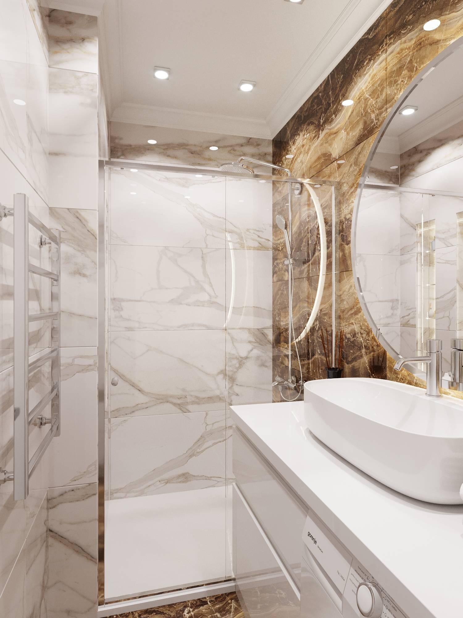 Ванна совмещенная с душевой кабиной, какую выбрать — виды и особенности (фото)