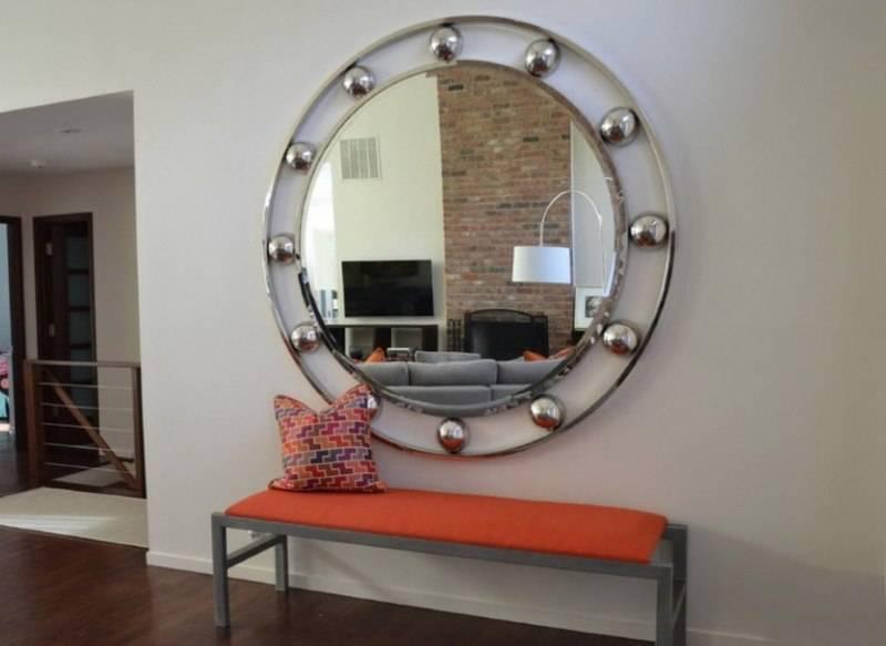 Какой шкаф с зеркалом выбрать в прихожую - материал фасада и декорирование ✨