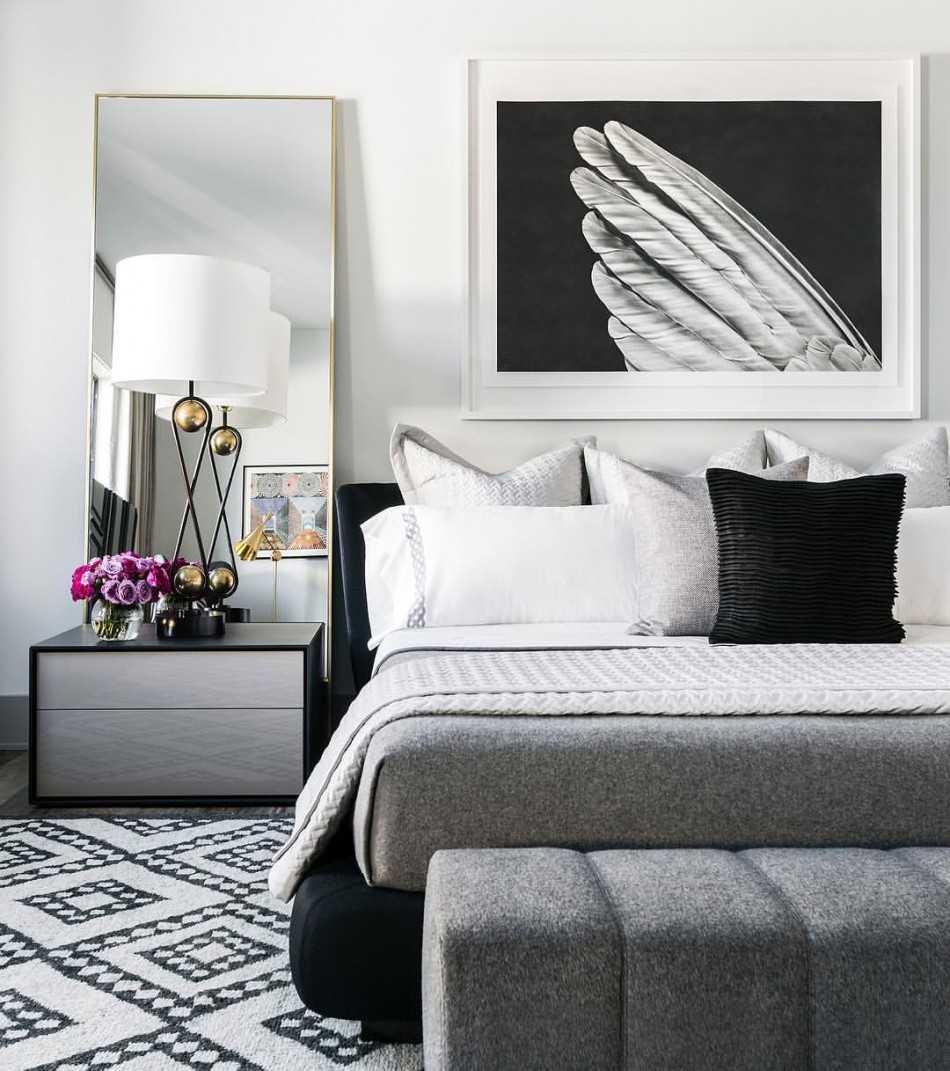 Спальня в стиле модерн (68 фото): дизайн интерьера, белая итальянская модульная спальня